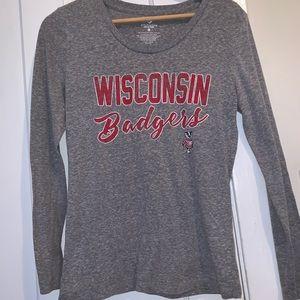 Wisconsin long sleeve shirt
